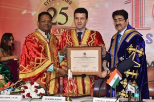 Asian Academy of Film and Television organised convocation program of its 100th batch which was attended by the most experienced famous personalities of the industry.